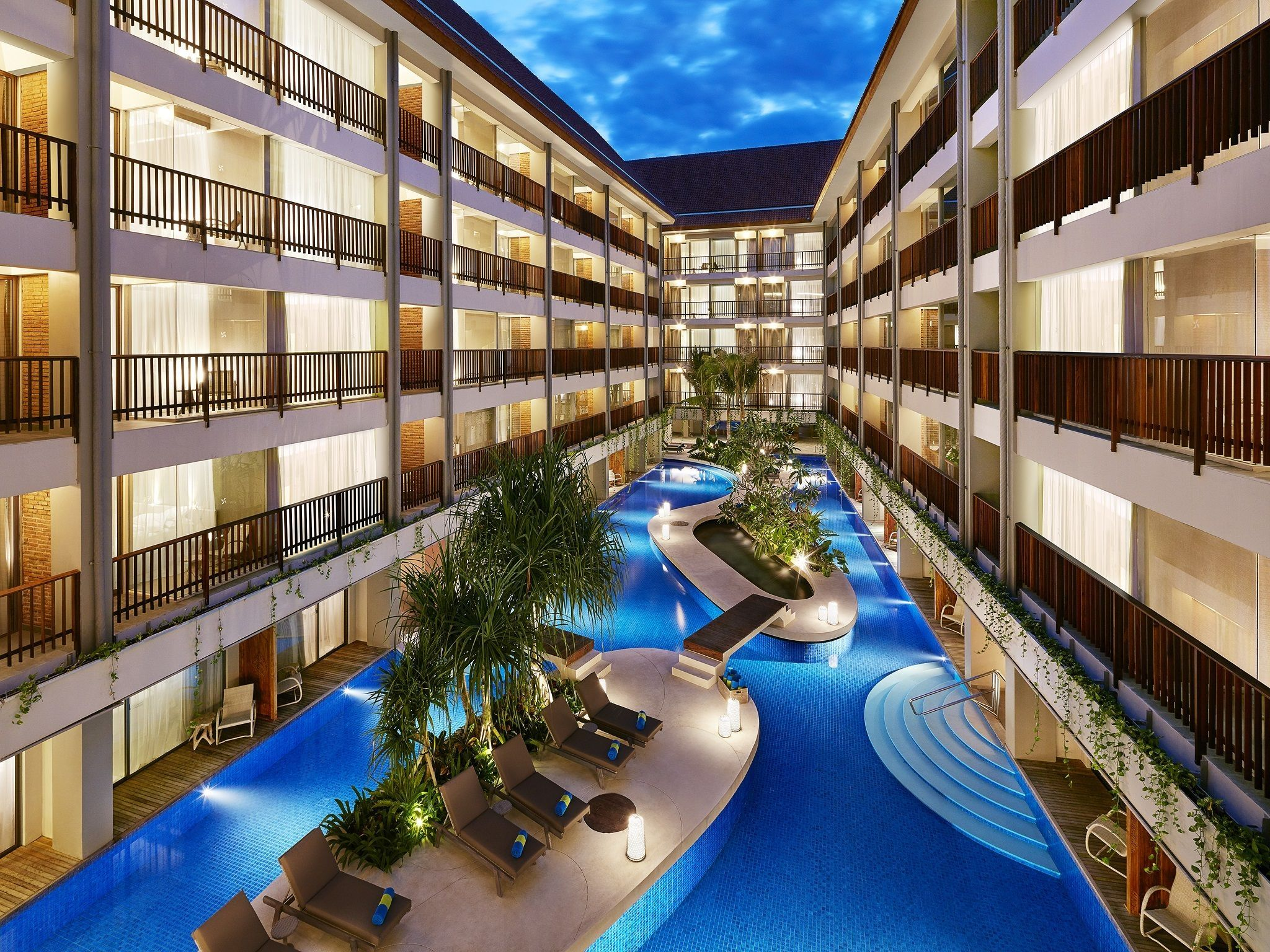 Lagoon Pool - Four Points by Sheraton Bali, Kuta